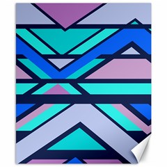 Angles and stripes			Canvas 8  x 10