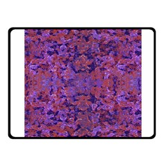 Intricate Patterned Textured  Fleece Blanket (small)