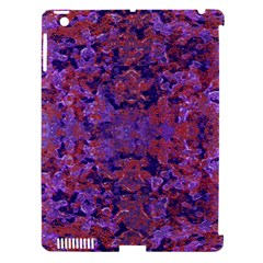 Intricate Patterned Textured  Apple iPad 3/4 Hardshell Case (Compatible with Smart Cover)