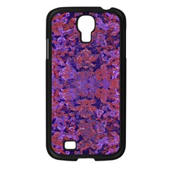 Intricate Patterned Textured  Samsung Galaxy S4 I9500/ I9505 Case (Black)