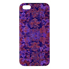 Intricate Patterned Textured  iPhone 5S Premium Hardshell Case