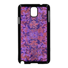 Intricate Patterned Textured  Samsung Galaxy Note 3 Neo Hardshell Case (black)