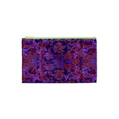 Intricate Patterned Textured  Cosmetic Bag (xs)