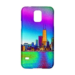 Chicago Colored Foil Effects Samsung Galaxy S5 Hardshell Case