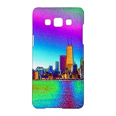 Chicago Colored Foil Effects Samsung Galaxy A5 Hardshell Case