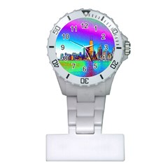 Chicago Colored Foil Effects Nurses Watches