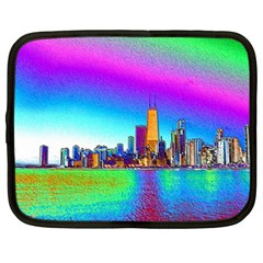 Chicago Colored Foil Effects Netbook Case (XXL)