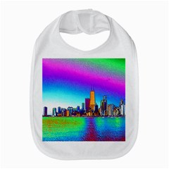 Chicago Colored Foil Effects Bib
