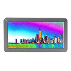 Chicago Colored Foil Effects Memory Card Reader (mini)
