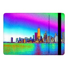 Chicago Colored Foil Effects Samsung Galaxy Tab Pro 10 1  Flip Case