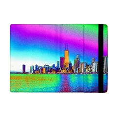 Chicago Colored Foil Effects iPad Mini 2 Flip Cases