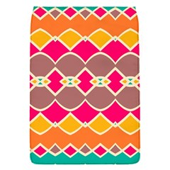 Symmetric shapes in retro colors			Removable Flap Cover (S)