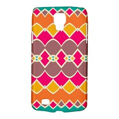 Symmetric shapes in retro colorsSamsung Galaxy S4 Active (I9295) Hardshell Case