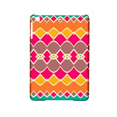 Symmetric shapes in retro colors			Apple iPad Mini 2 Hardshell Case