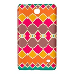 Symmetric Shapes In Retro Colors			samsung Galaxy Tab 4 (8 ) Hardshell Case
