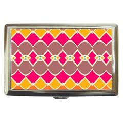 Symmetric shapes in retro colorsCigarette Money Case