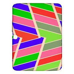 Symmetric distorted rectangles			Samsung Galaxy Tab 3 (10.1 ) P5200 Hardshell Case