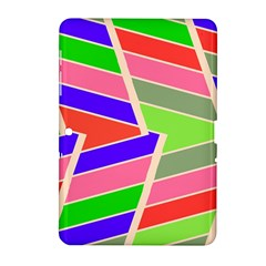Symmetric distorted rectangles			Samsung Galaxy Tab 2 (10.1 ) P5100 Hardshell Case