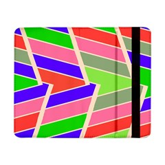 Symmetric Distorted Rectangles			samsung Galaxy Tab Pro 8 4  Flip Case