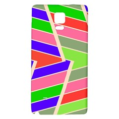 Symmetric distorted rectanglesSamsung Note 4 Hardshell Back Case