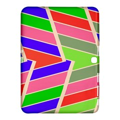 Symmetric distorted rectangles			Samsung Galaxy Tab 4 (10.1 ) Hardshell Case