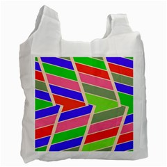 Symmetric distorted rectangles			Recycle Bag (One Side)