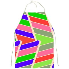 Symmetric distorted rectangles			Full Print Apron