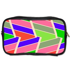 Symmetric distorted rectangles			Toiletries Bag (One Side)
