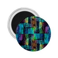 Abstract Square Wall 2 25  Magnets