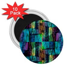 Abstract Square Wall 2 25  Magnets (10 Pack)