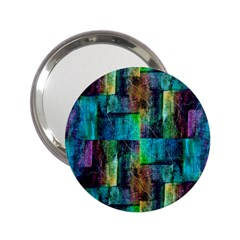 Abstract Square Wall 2 25  Handbag Mirrors