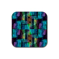 Abstract Square Wall Rubber Coaster (Square)