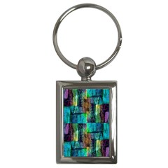 Abstract Square Wall Key Chains (rectangle)