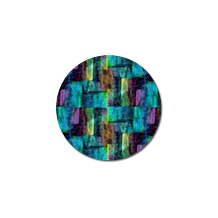 Abstract Square Wall Golf Ball Marker