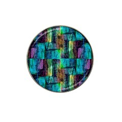 Abstract Square Wall Hat Clip Ball Marker (4 pack)