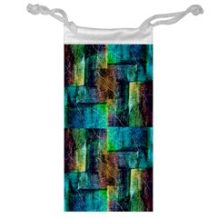 Abstract Square Wall Jewelry Bags