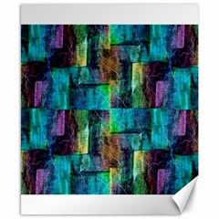 Abstract Square Wall Canvas 8  X 10