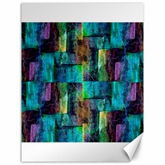 Abstract Square Wall Canvas 12  x 16
