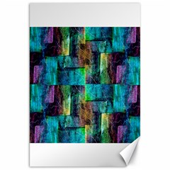 Abstract Square Wall Canvas 20  x 30
