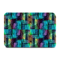 Abstract Square Wall Plate Mats