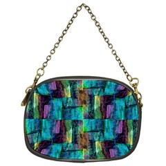 Abstract Square Wall Chain Purses (one Side)