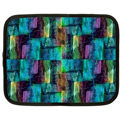 Abstract Square Wall Netbook Case (XXL)