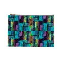 Abstract Square Wall Cosmetic Bag (large)