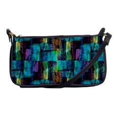 Abstract Square Wall Shoulder Clutch Bags