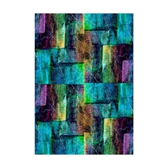 Abstract Square Wall Shower Curtain 48  X 72  (small)