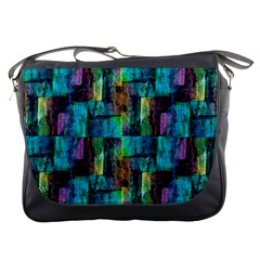 Abstract Square Wall Messenger Bags