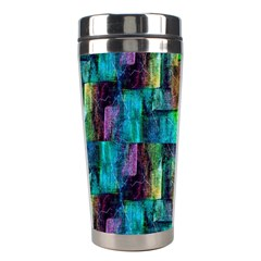 Abstract Square Wall Stainless Steel Travel Tumblers