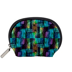 Abstract Square Wall Accessory Pouches (Small)