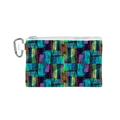 Abstract Square Wall Canvas Cosmetic Bag (s)