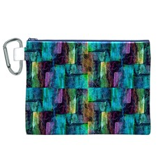 Abstract Square Wall Canvas Cosmetic Bag (XL)